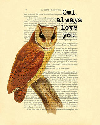 I Will Always Love You Art Print