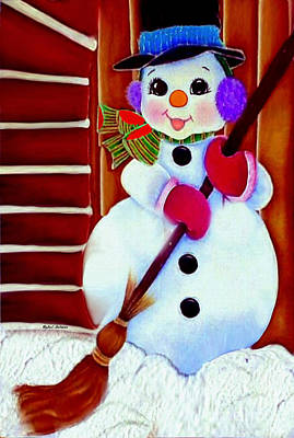 Digital Art - I Will Clean Your Snow For Free by Rafael Salazar