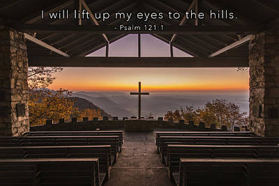 Photograph - I Will Lift Up My Eyes by David Simchock