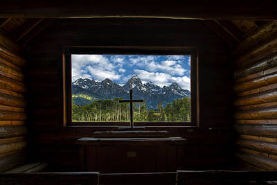 Teton Photograph - I Will Lift Up My Eyes Unto The Hills by Andrew Soundarajan