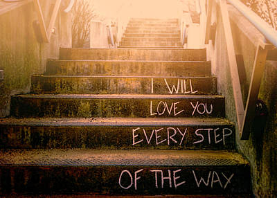 Romance Photograph - I Will Love You 2 by Bob Orsillo