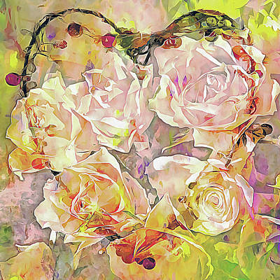 Digital Art - I Will Love You Always by Dorothy Berry-Lound