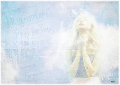 Digital Art - I Will Pray For You by Sandra Clark