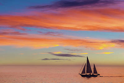 Photograph - I Will Sail Away, And Take Your Heart With Me by Peter Tellone