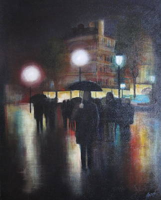 Painting - I Will Wait For You Forever by Victoria Heryet