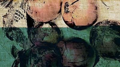 Onion Drawing - I Won't Cry by Scott Putman
