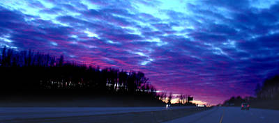 Photograph - I70 West Ohio by Steve Karol