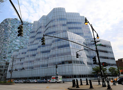 Photograph - Iac Building By Frank Gehry In Chelsea by Steven Spak