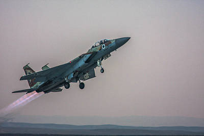 Photograph - Iaf F-15i Ra'am by Amos Dor