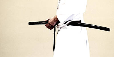 Photograph - Iaido _ 6 by Tim Nichols