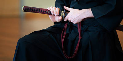 Photograph - Iaido _ 8 by Tim Nichols