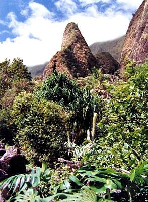 Photograph - Iao Needle by Will Borden