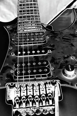 Photograph - Ibanez Guitar by David Patterson