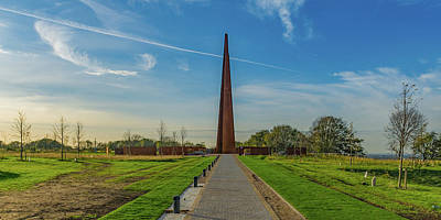 Photograph - Ibcc Spire Wide View by Gary Eason