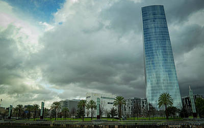 Photograph - Iberdrola Tower Bilbao Spain by Henri Irizarri