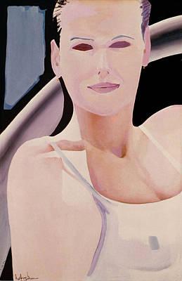 Ibiza Woman Number One Art Print by Geoff Greene