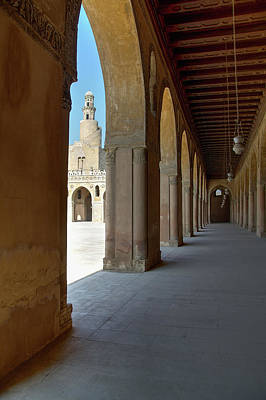 Photograph - Ibn Tulun Great Mosque by Nigel Fletcher-Jones