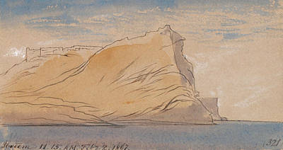 Drawing - Ibreem by Edward Lear
