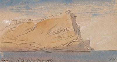 Drawing - Ibreem by Edward Lear