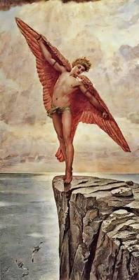 Painting - Icarus By Richmond by William Blake Richmond