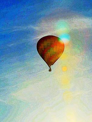 Photograph - Icarus' Dream by Steve Warnstaff