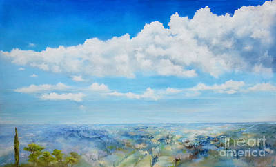 Painting - Icarus by Maja Sokolowska