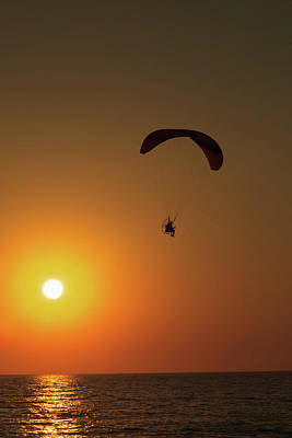 Photograph - Icarus by Makk Black