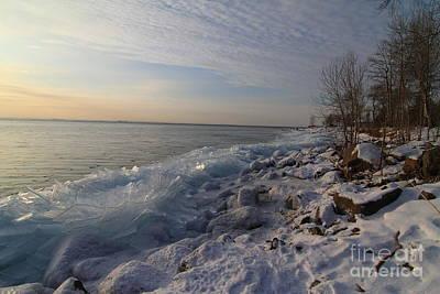 Photograph - Ice 2018 # 2 by Rick Rauzi