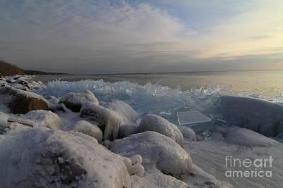 Photograph - Ice 2018 # 3 by Rick Rauzi