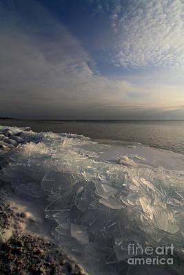 Photograph - Ice 2018  # 4 by Rick Rauzi