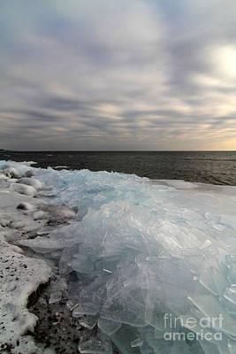 Photograph - Ice 2018 # 7 by Rick Rauzi