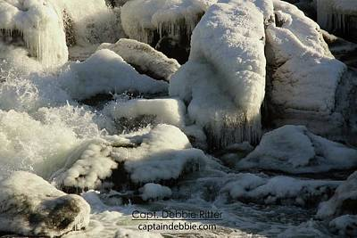 Photograph - Ice 2438 by Captain Debbie Ritter