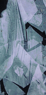 Photograph - Ice Abstract 13 by Lori Kingston