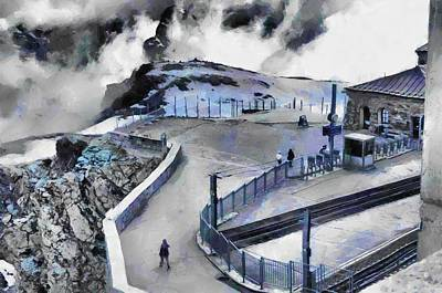 Photograph - Ice And Snow At Zermatt by Ashish Agarwal