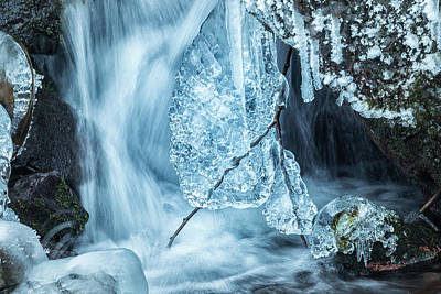 Photograph - Ice And Water, No. 1 by Belinda Greb