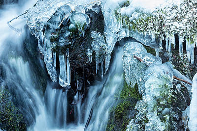 Photograph - Ice And Water, No. 2 by Belinda Greb