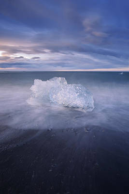 Photograph - Ice Beach by Dustin LeFevre