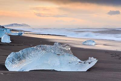 Photograph - Ice Beach by Susan Leonard
