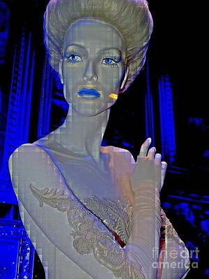 Photograph - Ice Blue Beauty #14 by Ed Weidman