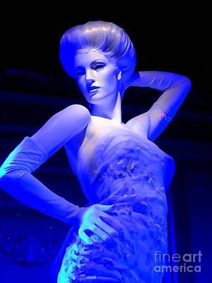 Photograph - Ice Blue Beauty #3 by Ed Weidman