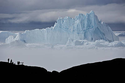 Photograph - Ice Blue Mountain by Michele Burgess