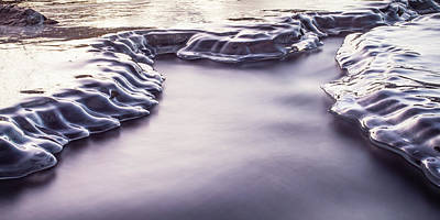 Urban Abstracts Royalty Free Images - Ice Canyon 3 Royalty-Free Image by Alan Cammack