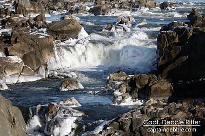 Photograph - Ice Cascades 2287 by Captain Debbie Ritter