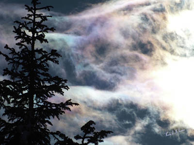 Photograph - Ice Cloud Crystal Rainbows by Wendy McKennon