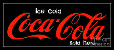 Photograph - Ice Cold Coke 10 Coca Cola Art by Reid Callaway