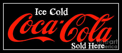 Photograph - Ice Cold Coke 11 Coca Cola Art by Reid Callaway
