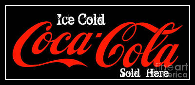 Photograph - Ice Cold Coke 7 Coca Cola Art by Reid Callaway