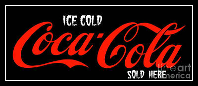 Photograph - Ice Cold Coke 8 Coca Cola Art by Reid Callaway