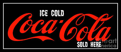 Photograph - Ice Cold Coke 9 Coca Cola Art by Reid Callaway