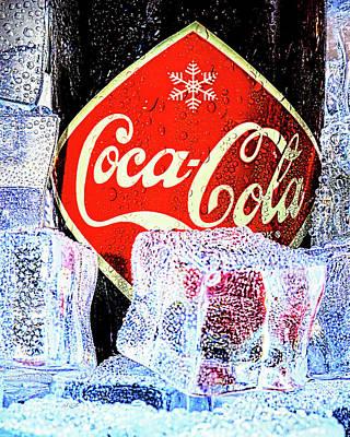 Photograph - Ice Cold Coke by Bob Orsillo